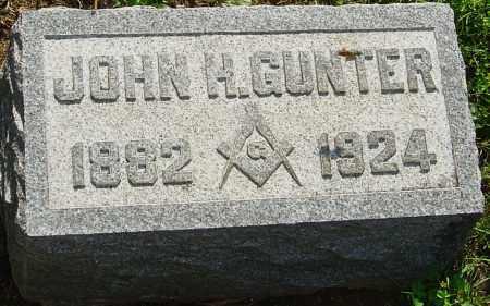 GUNTER, JOHN H - Montgomery County, Ohio | JOHN H GUNTER - Ohio Gravestone Photos
