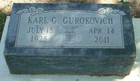 GUROKOVICH, KARL G - Montgomery County, Ohio | KARL G GUROKOVICH - Ohio Gravestone Photos