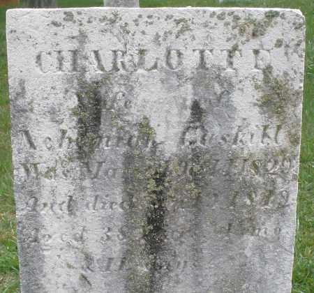 GUSKILL, CHARLOTTE - Montgomery County, Ohio | CHARLOTTE GUSKILL - Ohio Gravestone Photos