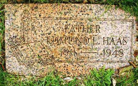 HAAS, EDMUND L. - Montgomery County, Ohio | EDMUND L. HAAS - Ohio Gravestone Photos