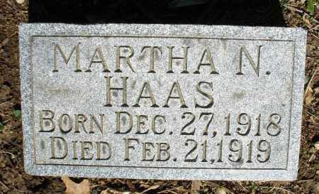 HAAS, MARTHA N. - Montgomery County, Ohio | MARTHA N. HAAS - Ohio Gravestone Photos