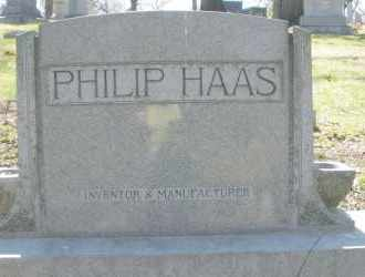 HAAS, PHILIP - Montgomery County, Ohio | PHILIP HAAS - Ohio Gravestone Photos