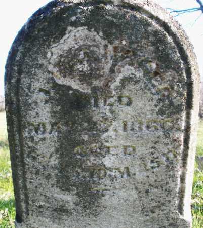 HAGER, J.G.J. - Montgomery County, Ohio | J.G.J. HAGER - Ohio Gravestone Photos