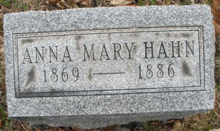 HAHN, ANNA MARY - Montgomery County, Ohio | ANNA MARY HAHN - Ohio Gravestone Photos
