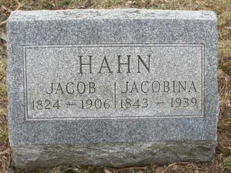HAHN, JACOB - Montgomery County, Ohio | JACOB HAHN - Ohio Gravestone Photos