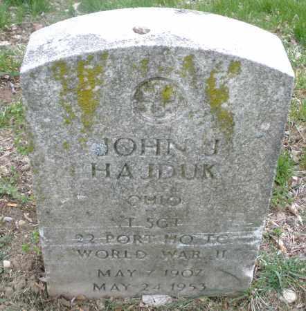 HAJDUK, JOHN J. - Montgomery County, Ohio | JOHN J. HAJDUK - Ohio Gravestone Photos