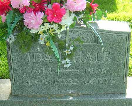 HALE, IDA L - Montgomery County, Ohio | IDA L HALE - Ohio Gravestone Photos