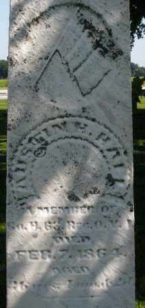 HALL, AUSTIN - Montgomery County, Ohio | AUSTIN HALL - Ohio Gravestone Photos