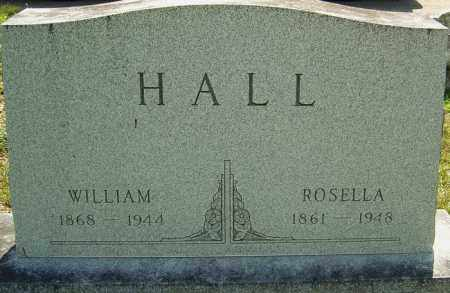 HALL, ROSELLA - Montgomery County, Ohio | ROSELLA HALL - Ohio Gravestone Photos
