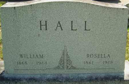 HALL, WILLIAM - Montgomery County, Ohio | WILLIAM HALL - Ohio Gravestone Photos