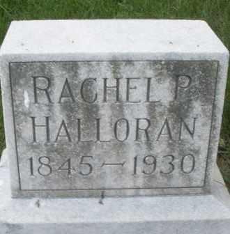 HALLORAN, RACHEL P. - Montgomery County, Ohio | RACHEL P. HALLORAN - Ohio Gravestone Photos