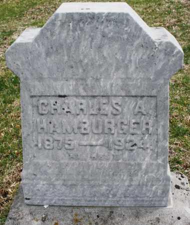 HAMBURGER, CHARLES A. - Montgomery County, Ohio | CHARLES A. HAMBURGER - Ohio Gravestone Photos