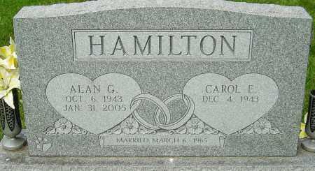 HAMILTON, ALAN G - Montgomery County, Ohio | ALAN G HAMILTON - Ohio Gravestone Photos