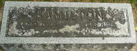 HAMILTON, HUBERT - Montgomery County, Ohio | HUBERT HAMILTON - Ohio Gravestone Photos