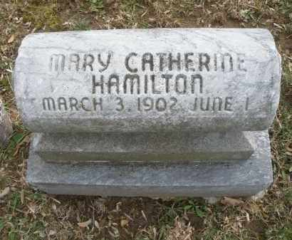 HAMILTON, MARY CATHERINE - Montgomery County, Ohio | MARY CATHERINE HAMILTON - Ohio Gravestone Photos