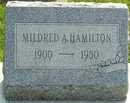 HAMILTON, MILDRED - Montgomery County, Ohio | MILDRED HAMILTON - Ohio Gravestone Photos