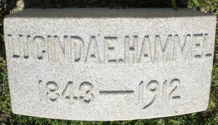 HAMMEL, LUCINDA E. - Montgomery County, Ohio | LUCINDA E. HAMMEL - Ohio Gravestone Photos