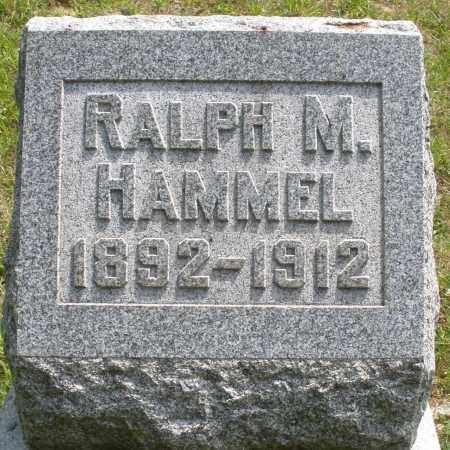HAMMEL, RALPH M. - Montgomery County, Ohio | RALPH M. HAMMEL - Ohio Gravestone Photos