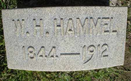 HAMMEL, W.H. - Montgomery County, Ohio | W.H. HAMMEL - Ohio Gravestone Photos