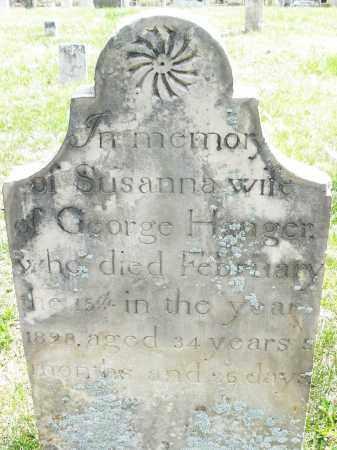 HANGER, SUSANNA - Montgomery County, Ohio | SUSANNA HANGER - Ohio Gravestone Photos