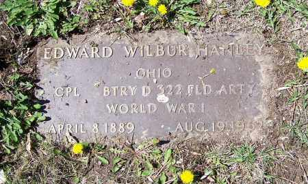 HANLEY, EDWARD WILBUR - Montgomery County, Ohio | EDWARD WILBUR HANLEY - Ohio Gravestone Photos