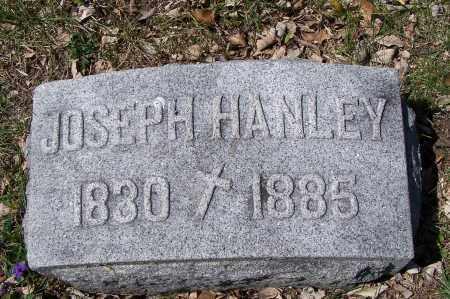 HANLEY, JOSEPH - Montgomery County, Ohio | JOSEPH HANLEY - Ohio Gravestone Photos