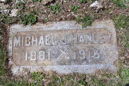 HANLEY, MICHAEL J. - Montgomery County, Ohio | MICHAEL J. HANLEY - Ohio Gravestone Photos