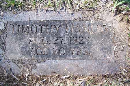 HANLEY, TIMOTHY - Montgomery County, Ohio | TIMOTHY HANLEY - Ohio Gravestone Photos