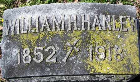 HANLEY, WILLIAM H. - Montgomery County, Ohio | WILLIAM H. HANLEY - Ohio Gravestone Photos