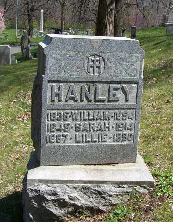 HANLEY, SARAH - Montgomery County, Ohio | SARAH HANLEY - Ohio Gravestone Photos