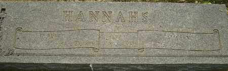 HANNAHS, EVERETT A - Montgomery County, Ohio | EVERETT A HANNAHS - Ohio Gravestone Photos