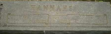 HANNAHS, EVERETT A - Montgomery County, Ohio | EVERETT A HANNAHS - Ohio Gravestone Photos