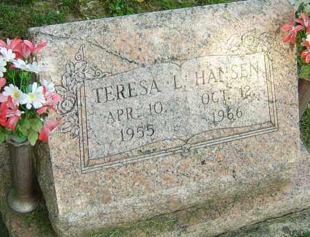 HANSEN, TERESA L - Montgomery County, Ohio | TERESA L HANSEN - Ohio Gravestone Photos
