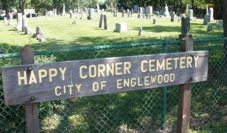 HAPPY CORNER, CEMETERY - Montgomery County, Ohio | CEMETERY HAPPY CORNER - Ohio Gravestone Photos