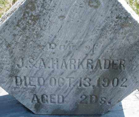 HARKRADER, DAUGHTER - Montgomery County, Ohio | DAUGHTER HARKRADER - Ohio Gravestone Photos
