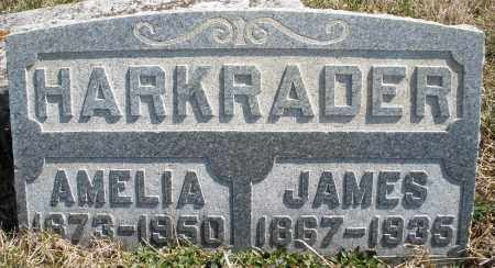 HARKRADER, JAMES - Montgomery County, Ohio | JAMES HARKRADER - Ohio Gravestone Photos