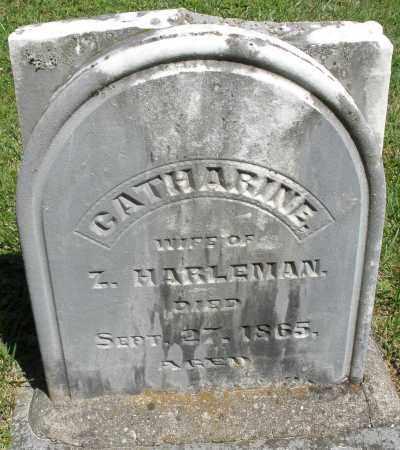 HARLEMAN, CATHARINE - Montgomery County, Ohio | CATHARINE HARLEMAN - Ohio Gravestone Photos