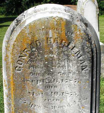 HARLEMAN, CONRAD - Montgomery County, Ohio | CONRAD HARLEMAN - Ohio Gravestone Photos