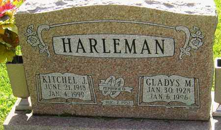 HARLEMAN, KITCHEL J - Montgomery County, Ohio | KITCHEL J HARLEMAN - Ohio Gravestone Photos