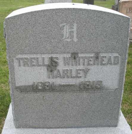 WHITEHEAD HARLEY, TRELLIS - Montgomery County, Ohio | TRELLIS WHITEHEAD HARLEY - Ohio Gravestone Photos