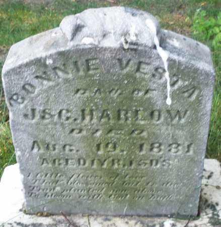 HARLOW, BONNIE VESTA - Montgomery County, Ohio | BONNIE VESTA HARLOW - Ohio Gravestone Photos