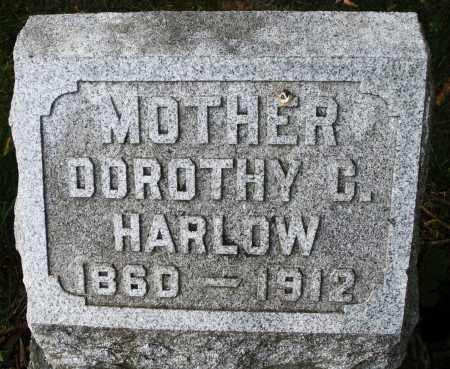 HARLOW, DOROTHY C. - Montgomery County, Ohio | DOROTHY C. HARLOW - Ohio Gravestone Photos