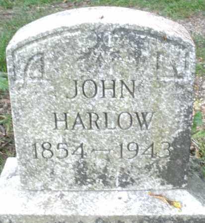 HARLOW, JOHN - Montgomery County, Ohio | JOHN HARLOW - Ohio Gravestone Photos
