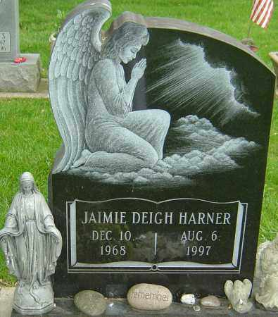 HARNER, JAIMIE DEIGH - Montgomery County, Ohio | JAIMIE DEIGH HARNER - Ohio Gravestone Photos
