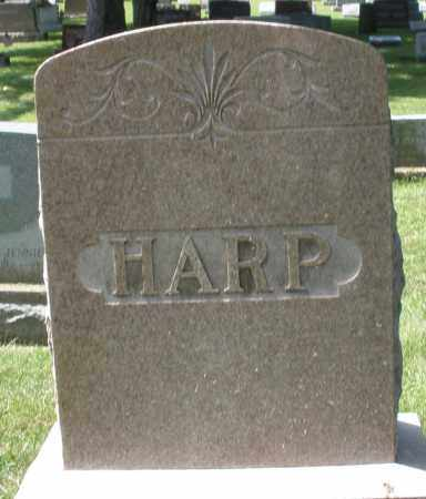 HARP, MONUMENT - Montgomery County, Ohio | MONUMENT HARP - Ohio Gravestone Photos