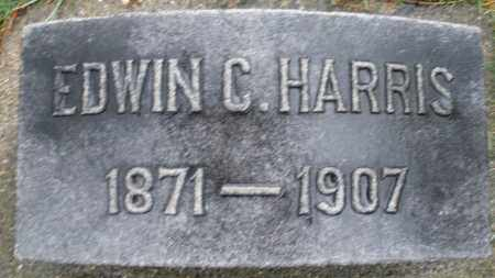 HARRIS, EDWIN C. - Montgomery County, Ohio | EDWIN C. HARRIS - Ohio Gravestone Photos