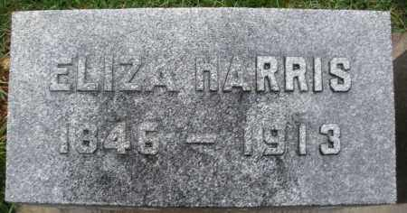 HARRIS, ELIZA - Montgomery County, Ohio | ELIZA HARRIS - Ohio Gravestone Photos