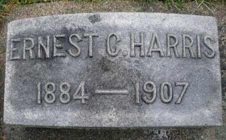 HARRIS, ERNEST C. - Montgomery County, Ohio | ERNEST C. HARRIS - Ohio Gravestone Photos
