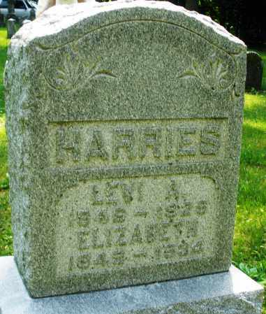 HARRIS, ELIZABETH - Montgomery County, Ohio | ELIZABETH HARRIS - Ohio Gravestone Photos