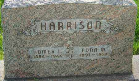 HARRISON, HOMER LEE - Montgomery County, Ohio | HOMER LEE HARRISON - Ohio Gravestone Photos